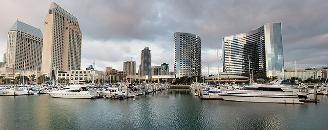 San Diego Harbor & NACBA convention hotel